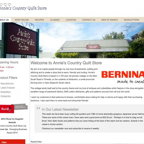 Annies Country Quilt Store